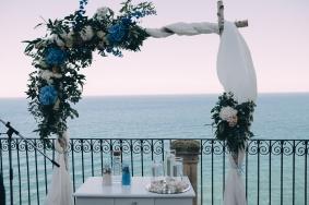 Arco ceremonia marinera