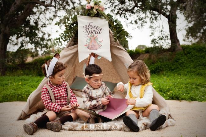 Fiesta infantil de indios-Tikismikis-Alicante